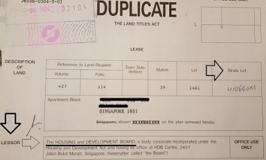 Image result for hdb lease document