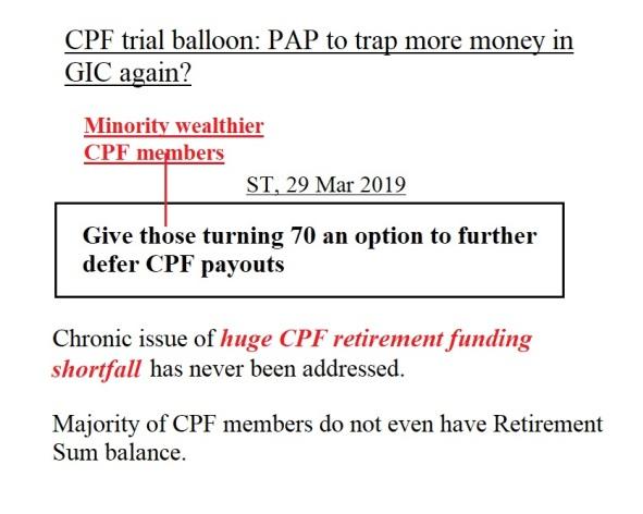 CPF trial balloon
