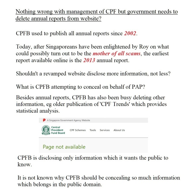cpf reports deleted