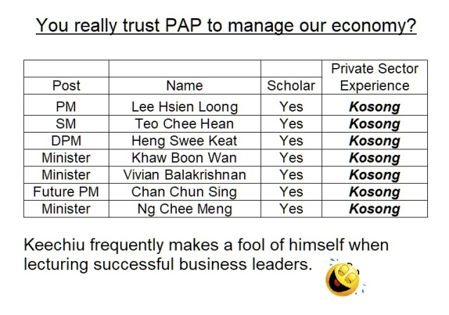 pap ministers kosong experience