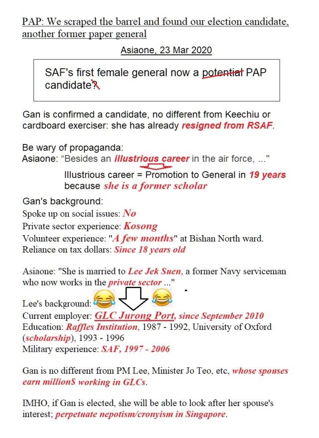 PAP CANDIDATE GAN
