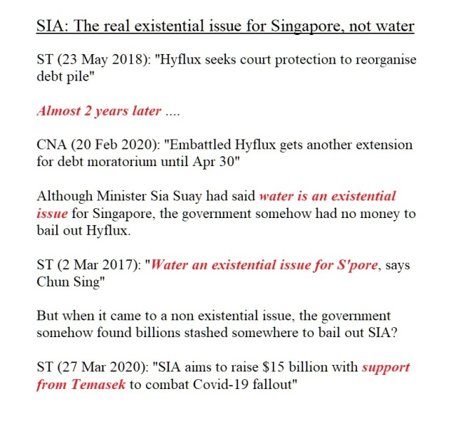 SIA EXISTENTIAL ISSUE